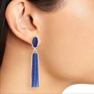 Kendra Scott Carson blue earrings